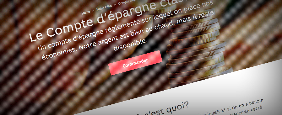 Le site de Hello bank!
